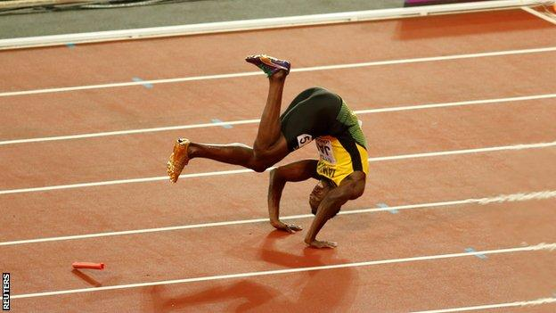 Usain Bolt ends his career with 11 world championship gold medals