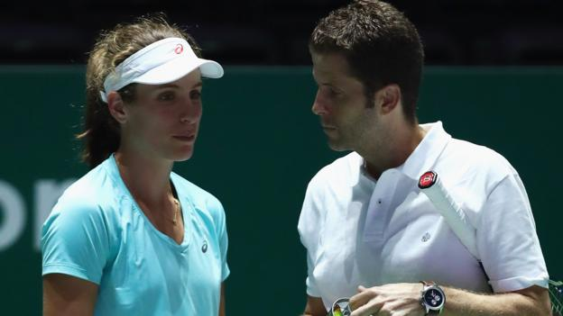 GB number one Konta splits with coach Carril