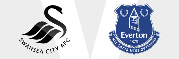 Swansea City v Everton