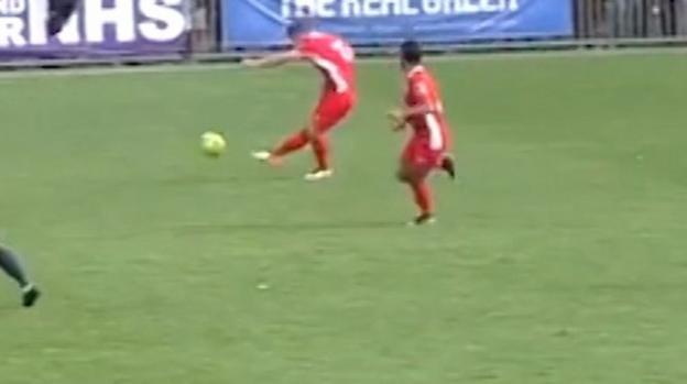 The Beckham of Billericay - Robinson scores wonder goal from own half