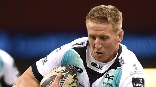 Bradley Davies: Ospreys lock to miss Wales tour to be with expectant wife