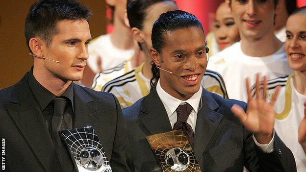 Lampard and Ronaldinho