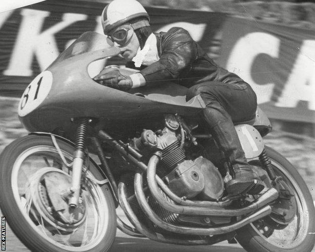 John Surtees at the 1956 Isle of Man TT