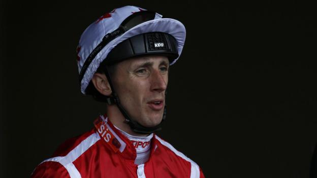 George Baker: Jockey awake in intensive care after fall at ... George Baker