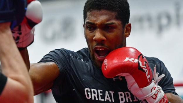 Anthony Joshua v Wladimir Klitschko: 'Father Time' has caught up with Ukrainian