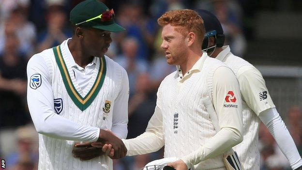 Anderson & Bairstow help England take charge of fourth Test