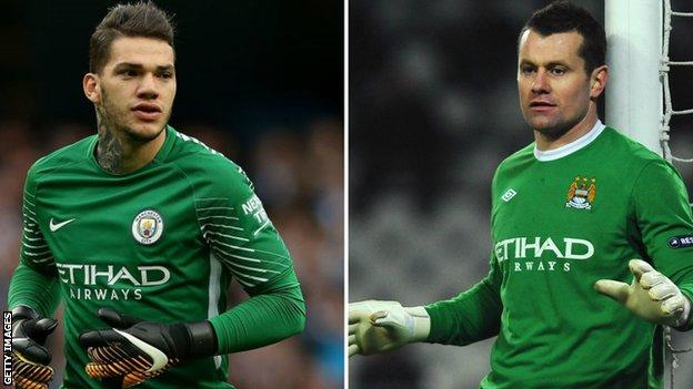 Ederson and Shay Given