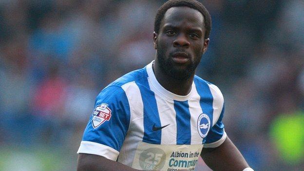 Elvis Manu: Huddersfield sign Brighton winger on loan - BBC Sport