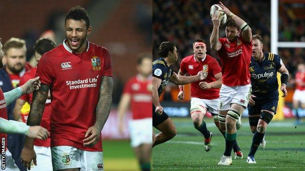 Courtney Lawes and Iain Henderson