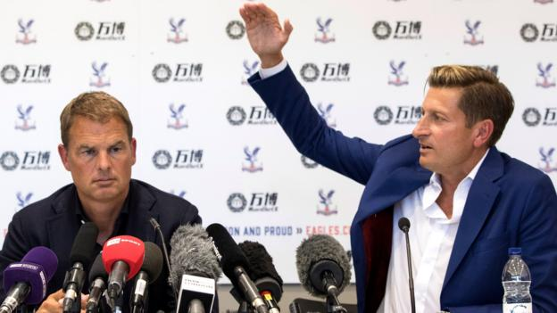 bbc.co.uk - Steve Parish: Crystal Palace chairman says club 'bought' their way out of trouble