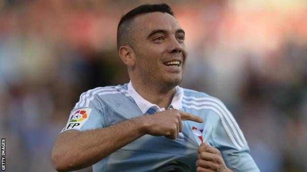 Iago Aspas is the highest-scoring Spaniard in La Liga this season