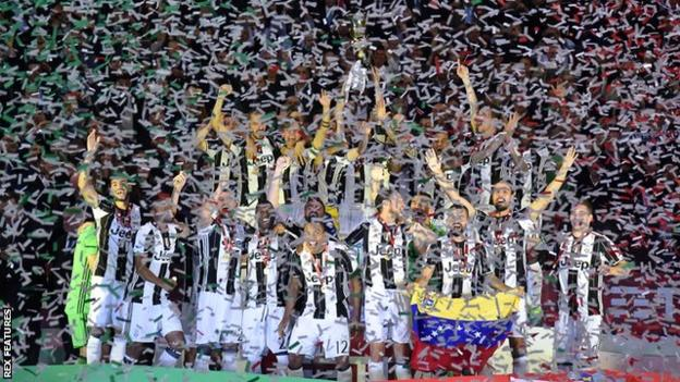 Juventus are on course for a European and domestic treble after winning the Coppa Italia in midweek