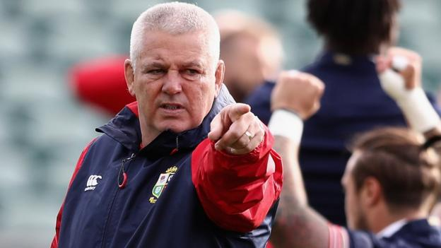 British and Irish Lions: Warren Gatland angry at criticism ...