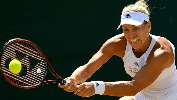 World number one knocked out by Muguruza - report & highlights