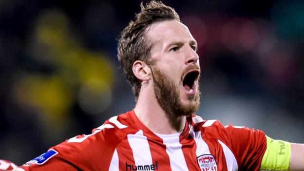 Ryan McBride: Derry City captain dies aged 27