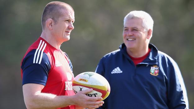 British and Irish Lions: Neil Jenkins and Graham Rowntree ...