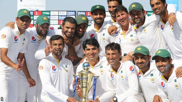 Pakistan ranked 3rd heading into Test series against England