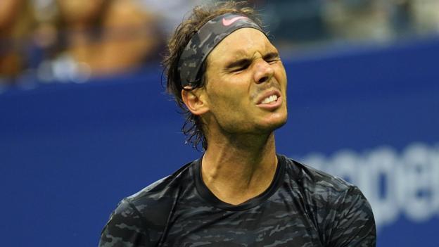US Open: Rafael Nadal loses to Fabio Fognini in third round - BBC ...