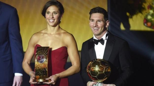 Lionel Messi wins Ballon d'Or over Cristiano Ronaldo & Neymar ...