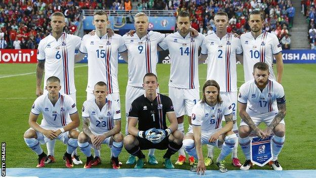 Iceland keeper Hannes Thor Halldorsson made eight saves in the match, the most of any player at the Euros in a game since Joe Hart v Italy in 2012