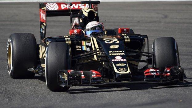 Italian Grand Prix: Lotus set to race despite uncertain future - BBC ...