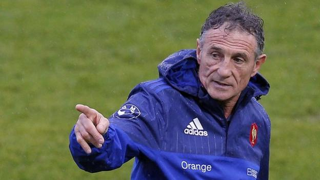 Six nations 2016 guy noves says france will be 39 pragmatic for Interieur sport guy noves