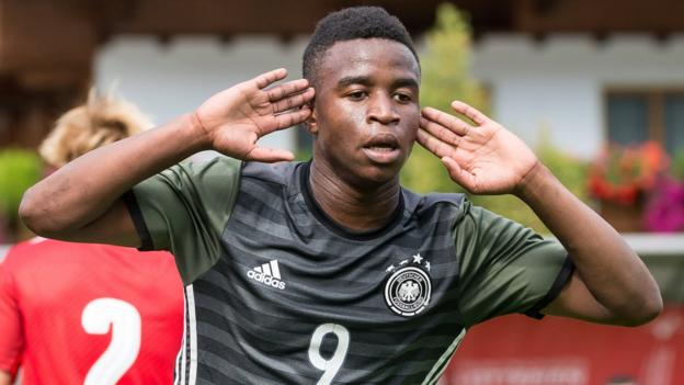 Youssoufa Moukoko: 12-year-old scores three in two games for Germany U16s