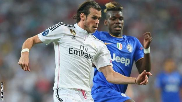 Gareth Bale and Paul Pogba