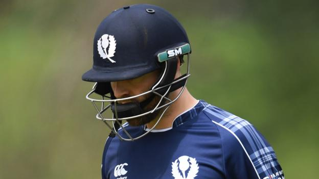 Scotland unable to repeat win against Zimbabwe in ODI series