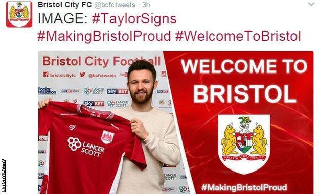 Bristol city tweet