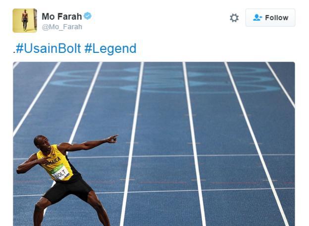 Team GB's Mo Farah