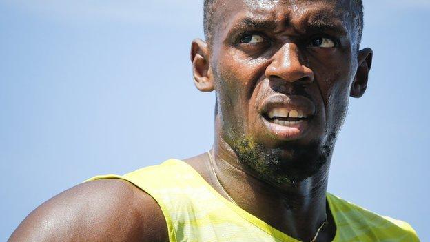 Anniversary Games: Usain Bolt ready for big London test - BBC Sport