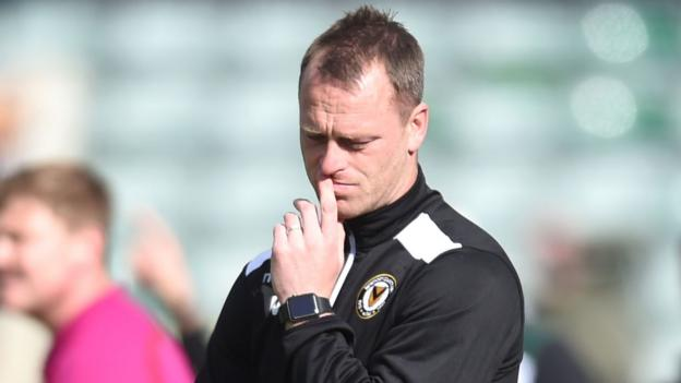 Mike Flynn: Newport's game against Accrington biggest since Football League return