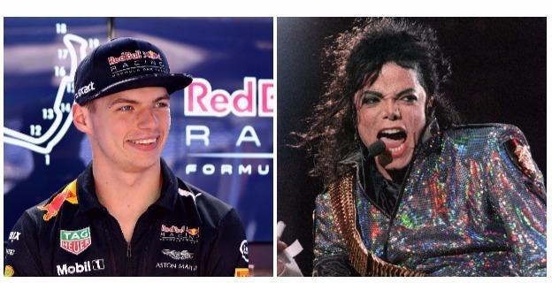 Max Verstappen and Michael Jackson