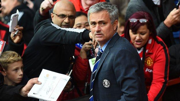 Jose Mourinho: Man Utd hold talks with former Chelsea manager ...