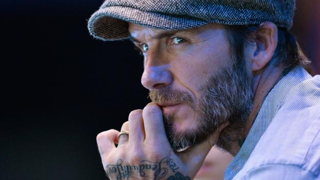 Manchester attack: David Beckham says Man Utd's Europa League win 'brings happiness'