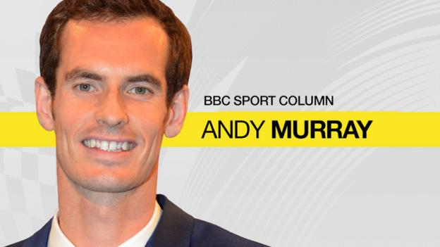 Andy Murray column: 'Players get nervous watching matches'