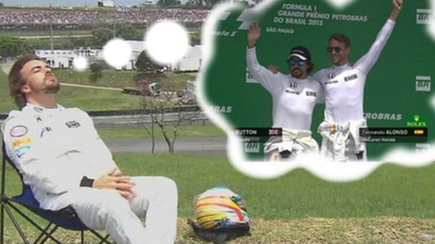 Fernando Alonso: #PlacesAlonsoWouldRatherBe after Brazilian GP ...