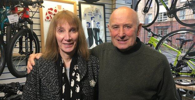 Philippa York and Billy Bilsland