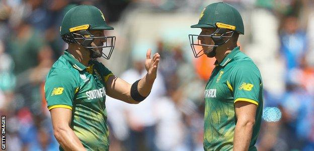 South Africa were beaten by both Pakistan and India as they crashed out of the group stages