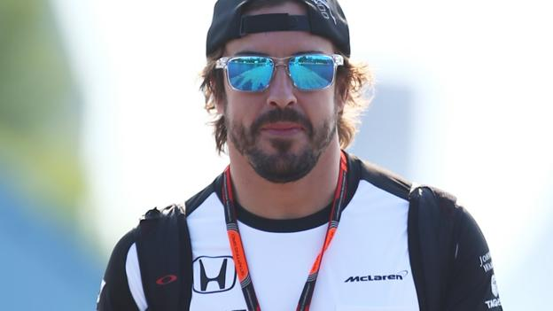 Fernando Alonso: McLaren driver could face 20-place penalty - BBC ...