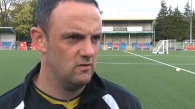 Europa League: Chris Hughes hails Newtown's history men - BBC ...