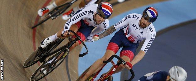 Mark Cavendish and Sir Bradley Wiggins