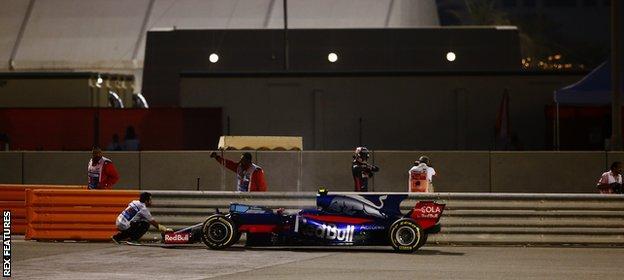 Toro Rosso driver Carlos Sainz Jr