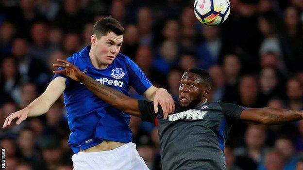 Michael Keane impressed for Everton against Hajduk Split