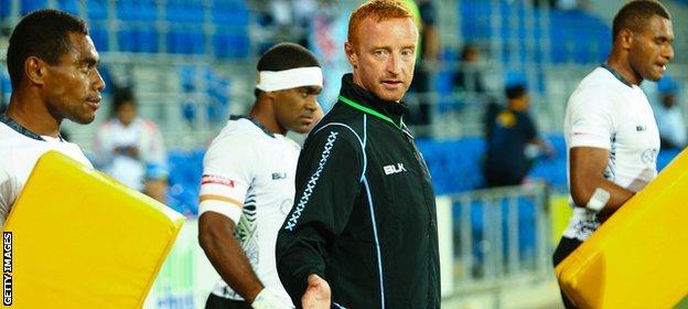 Ben Ryan has been Fiji coach since 2013