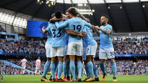 City wallop Stoke 7:2