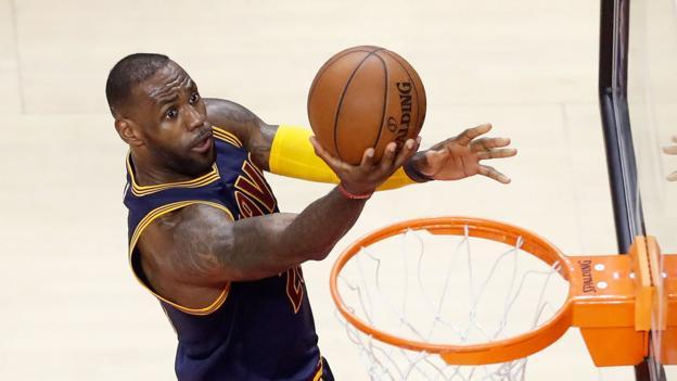 NBA Finals: Cleveland Cavaliers top ten plays of 2016 - BBC Sport
