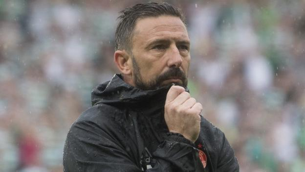 Scottish Cup: Near-perfect Aberdeen ran out of legs against Celtic – Derek McInnes