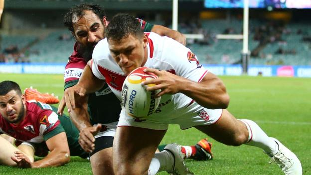 England score five tries to ease past Lebanon - report & highlights